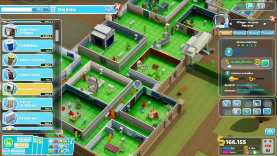 Two Point Hospital ? 36 – Schmutzfinken!