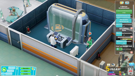 Two Point Hospital ? 37 – Voll gedebuggt!