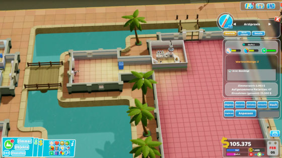Two Point Hospital ? 39 – Grundriss-Sorgen!