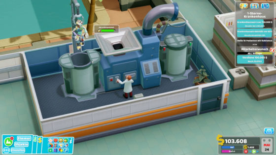 Two Point Hospital ? 40 – Kubismus!