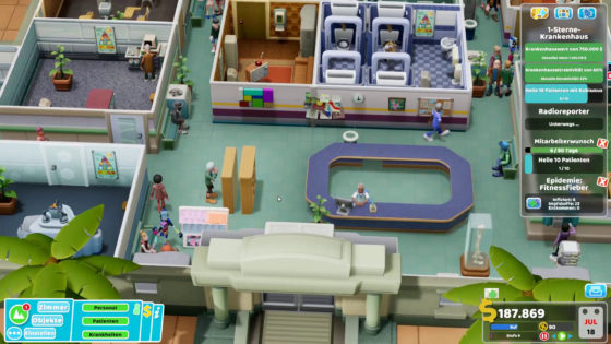 Two Point Hospital ? 41 – Sport ist Mord!