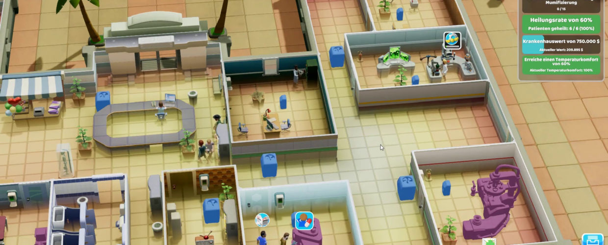 Two Point Hospital ? 43 – Schön schwitzig!