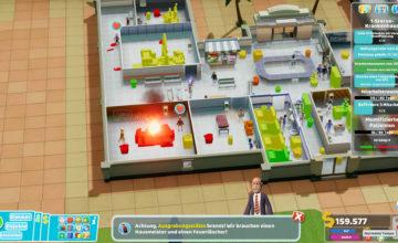 Two Point Hospital ? 46 – So viele Erdbeben!