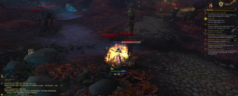 WoW: Battle for Azeroth 🌍 #115 – Viel los im Wald!