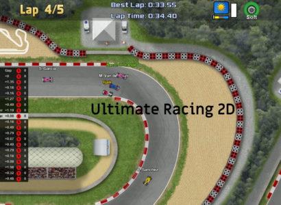 Es geht um die Plätze – Ultimate Racing 2D