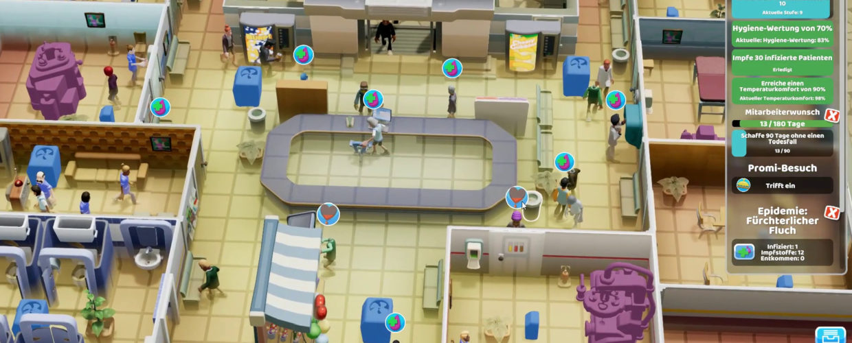 Two Point Hospital 🏥 #51 – Immer wieder Fluch!
