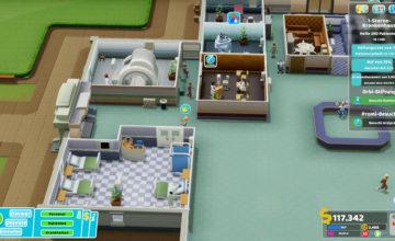 Two Point Hospital 🏥 #64 – Viereckige Zimmer sind langweilig!