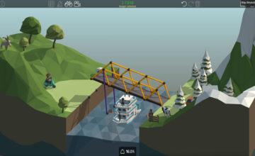 Poly Bridge 🌉 #01 – Wir lernen den Brückenbau!