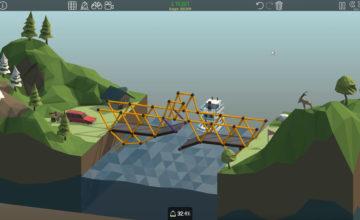Poly Bridge 🌉 #04 – Es bewegt sich. Aber falsch!
