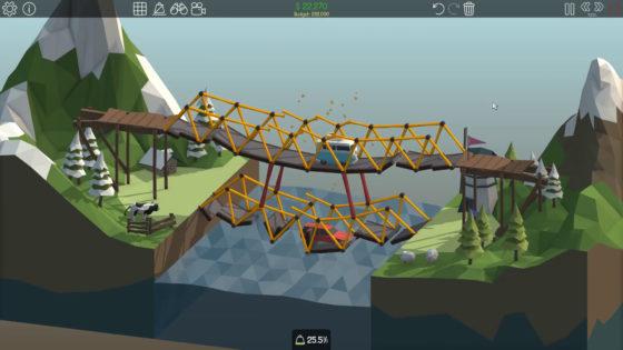 Poly Bridge 🌉 #05 – Doppelt stürzt besser ein!