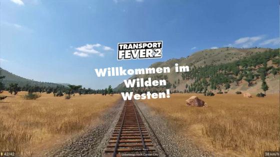Willkommen im Wilden Westen – Transport Fever 2 – Folge 01
