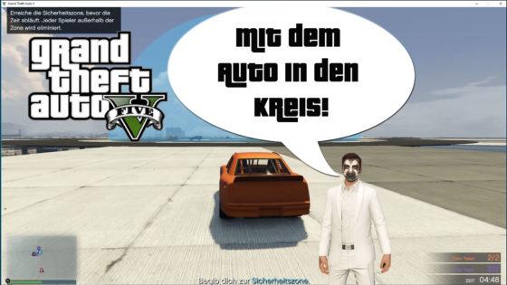 GTA V (Grand Theft Auto) – #322 – MIt dem Auto in den Kreis