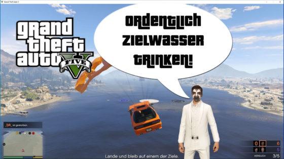 GTA V (Grand Theft Auto) – #323 – Ordentlich Zielwasser trinken!
