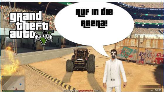 GTA V (Grand Theft Auto) – #323 – Auf in die Arena