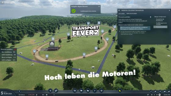Hoch leben die Motoren – Transport Fever 2 – Folge 17