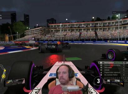 F1 2017, Season 2 🏎 #18 – Singapur!