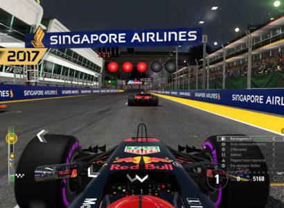 F1 2017, Season 2 🏎 #14 – Singapur