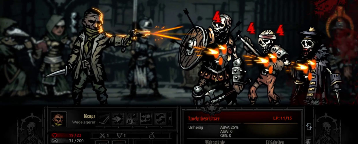 Darkest Dungeon ☠ #02 – In die Ruinen!