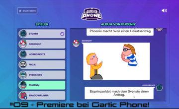 Gartic Phone 🖌 #09 – Premiere bei Gartic Phone!
