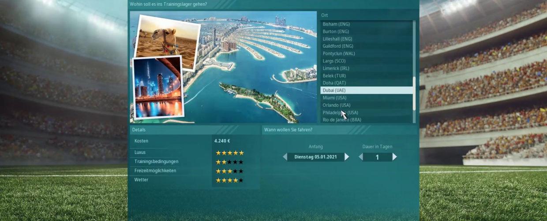 We are football ⚽ #12 – Dubai in der Winterpause?